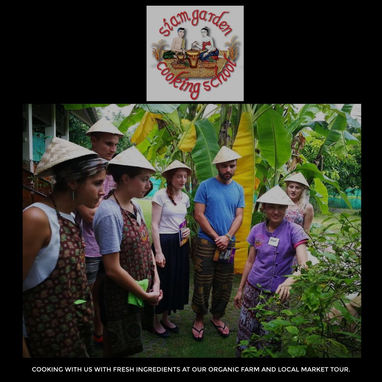 Siam Garden Cooking School logo