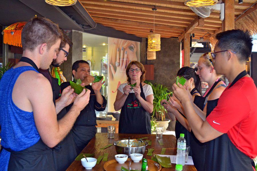 Balinese Cooking Class & Market Tour in Seminyak