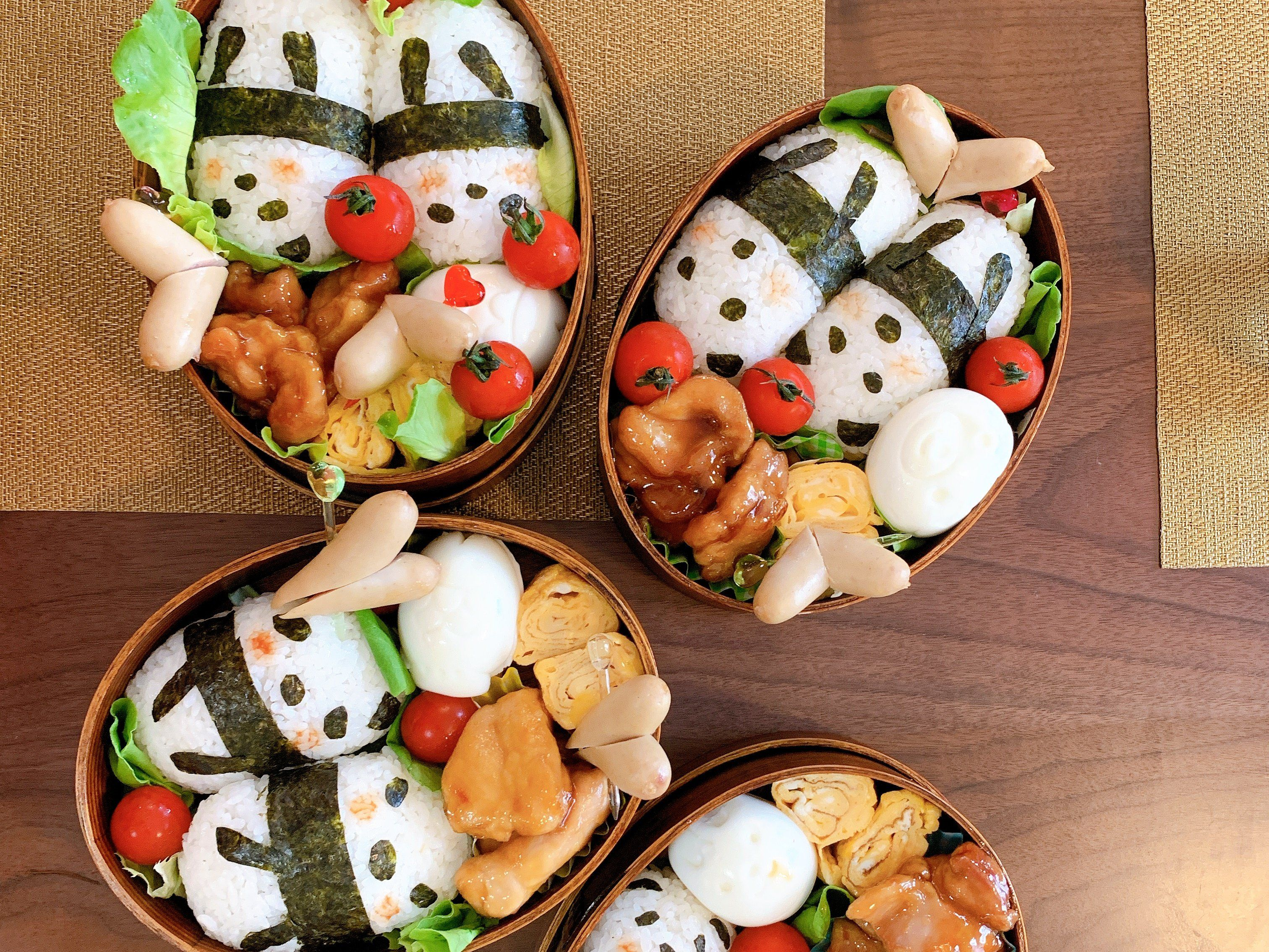 Mayuko S Little Kitchen Japanese Cooking Class Prepare Panda Bento Box At A Private Home Kitchen Book Online Cookly