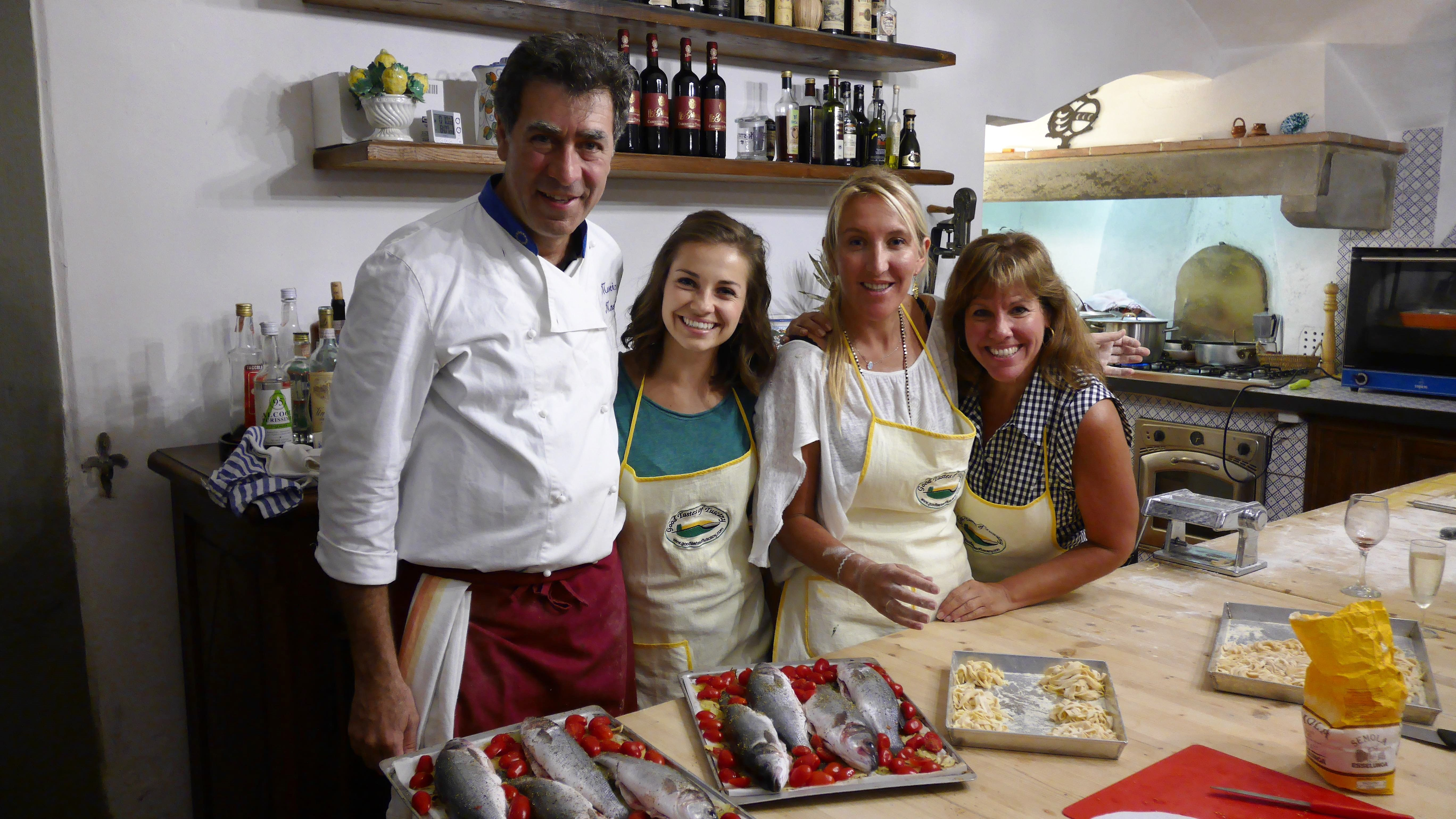 Cooking Class In A 12th Century Renaissance Castle With