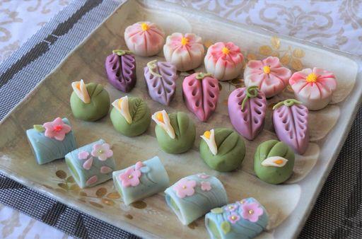 recipe: japanese green tea petits fours [29]