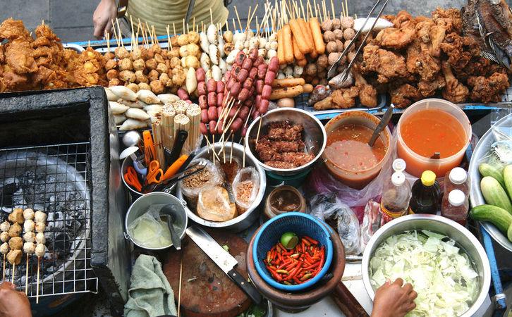 Bangkok Street Food by Jaaron