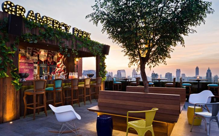 Gramercy Park Rooftop Bar by BK Magazine