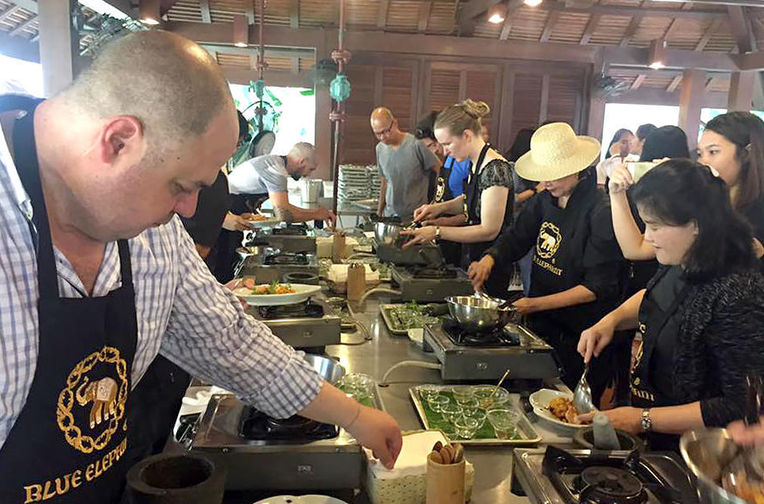 Full Day Thai Cooking Class with Market Tour and Private Teacher at Blue  Elephant Phuket