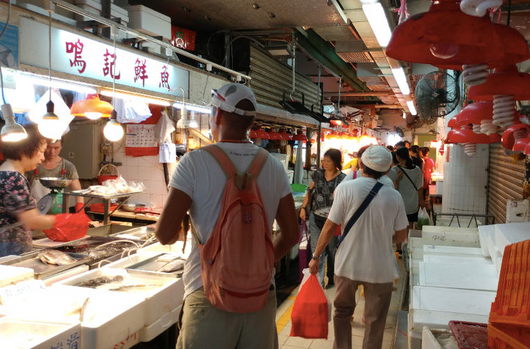 Hong Kong Wet Market Tour and Chinese Cooking Class