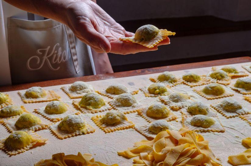 Casa Podere Monti: Pasta Class in Farmhouse - Book Online