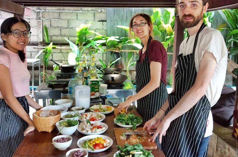 Vegan Vegetarian Cooking Class Chiang Mai Ning S Kitchen